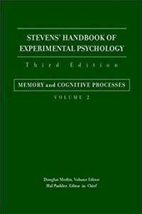 Download Stevens' Handbook of Experimental Psychology, Memory and Cognitive Processes (Volume 2) fb2