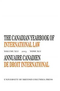 Download The Canadian Yearbook of International La (Canadian Yearbook of International Law) (v. 41) fb2