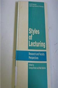 Download Styles of lecturing: Research and faculty perspectives (An ASTD publication) fb2