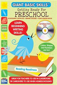 Download Getting Ready for PreSchool Giant Basic Skills Workbook with CD Rom (Modern Giant Basic Skills) fb2