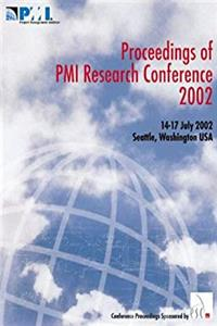 Download Proceedings of PMI Research Conference 2002: Frontiers of Project Management Research and Application fb2