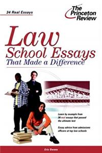 Download Law School Essays that Made a Difference (Graduate School Admissions Gui) fb2