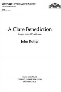 Download A Clare Benediction: Upper Voice Vocal Score (Oxford upper-voice music) fb2
