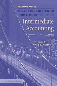 Download Intermediate Accounting: Working Papers, 12th Edition fb2