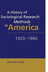 Download A History of Sociological Research Methods in America, 1920-1960 (Ideas in Context) fb2
