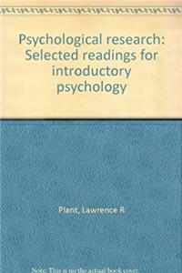 Download Psychological research: Selected readings for introductory psychology fb2