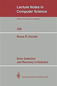 Download Error Detection and Recovery in Robotics (Lecture Notes in Computer Science) fb2